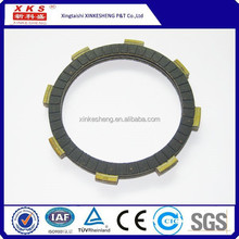 Best sale factory motorcycle clutch disc CG125 clutch fiber clutch plate