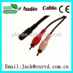 Good Speed bnc+rca to open cable High Quality