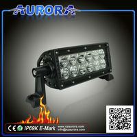 durable AURORA 6 inch double row 60w 4x4 led driving lights