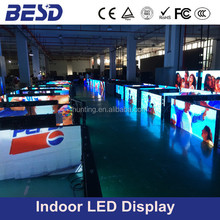 video Function 5mm Pixels smd indoor p5 led display/light weight rental led cabinet board