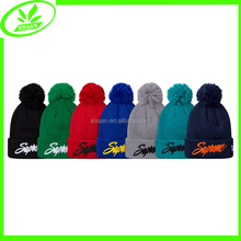 New arrival unisex fodable pom pom knit hat knight helmet
