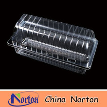 PET/PP disposable transparent sandwich/cake plastic food container/box/packaging NTPC- 089B