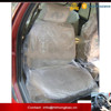 Clear plastic car seat cover