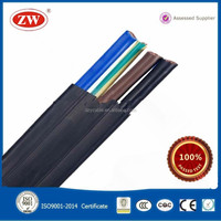Flame-retardant Silicon Rubber Flat Control Cable electric wire cable hs code