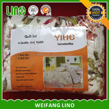 new style 3d printed polyester microfiber filling child quilt