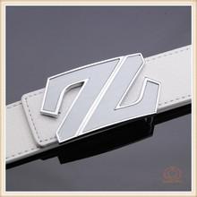 custom high quality 100% genuine Leather Luxury Belt Men