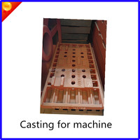 FCD 450 Ductile iron casting for paper machine