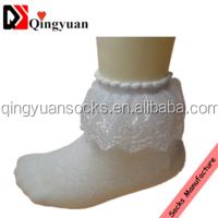 popular design breathable baby socks comfortable Lace children thin cotton socks baby socks