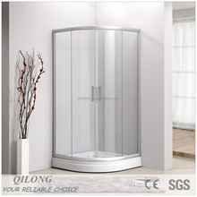 5mm thickness tempered glass shower room