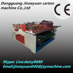 Cardboard folding gluing machine/corrugated paperboard folder gluer machine/carton box machinery