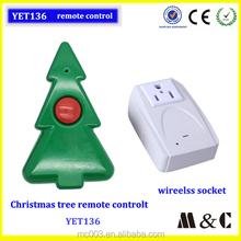 220 v home use christmas-tree decorative light remote control