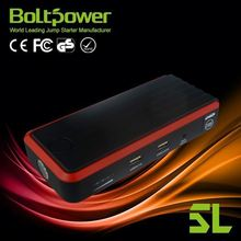Safe High Capacity LiFe Battery12v car starter battery charger with 1W led sos emergency light