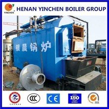 industrial usage steam boiler types straw or pellet fired stove boiler