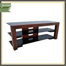 high standard high quality glass furniture lcd tv stand design RAV550
