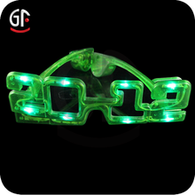 New Year Most Popular Wholesale New Style Number Party Sunglasses Led Light