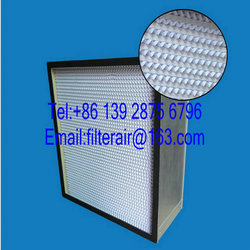 deep pleated hepa air filter h13 for clean room
