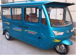 Right steering adult use electric mini van/bus