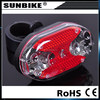 2015 factory direct sale hot sale battery powered bicycle light led