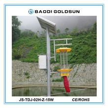 new design electric shock solar powered pest control in orchard,crop,grape field etc