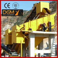 High quality grizzly screen for gravel machine for quarry