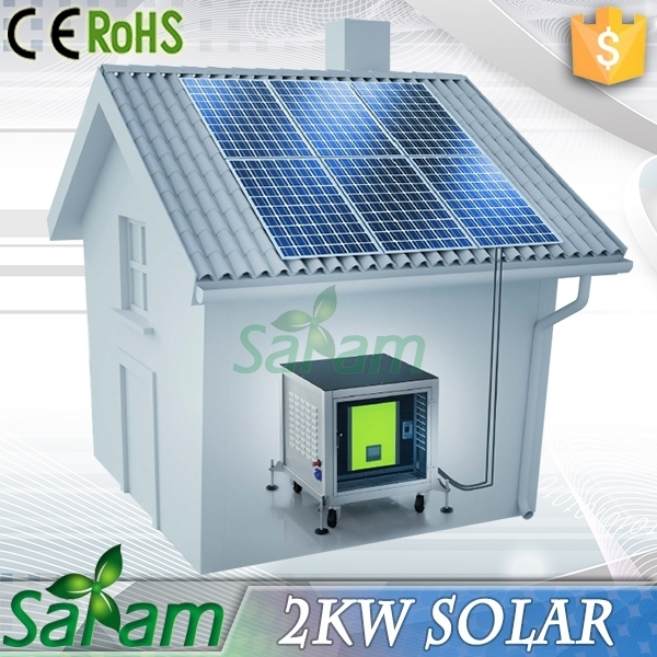 Cheap price solar panel for home use 2kw buy cheap solar for Panel homes prices