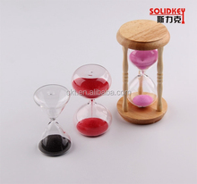 Wooden hourglass sand timer 15 /30 /60 / minutes