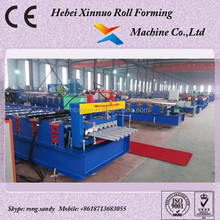 Steel Profile Roll Forming Machine Made In China Make Water Corrugated Shape