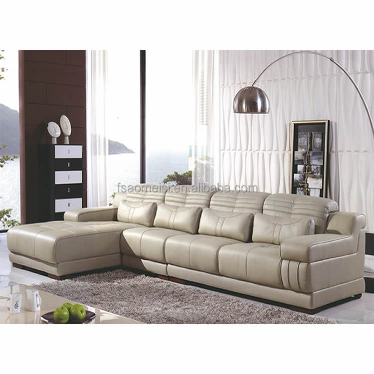 Contemporary Pure Leather Home Living Room Furniture Sofa Set Natuzzi Leath