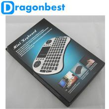 2013 best selling 2.4G Rii Mini i8 russian keyboard mobile phone