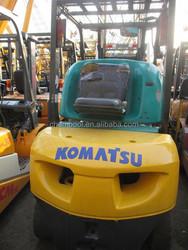 Forklift 3 ton with 3 stages, Japan original forklift FD30
