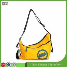 new style canvas shoulder bag manufacturer fashionable design messenge bag for ladies