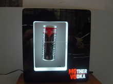 POP magnetic levitation floating display for energy drink can