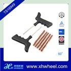 Motocicleta/carro furo de pneu tubeless kit de reparação de pneus ferramenta plug auto 5 tira