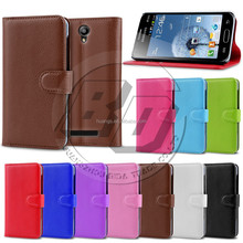 Litchi Texture PU Leather Wallet Stand Card Holder Cover Case for Samsung Galaxy Trend Duos S7562