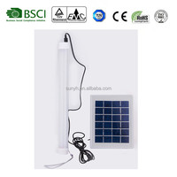 4W Portable and bright LED lantern with seperate solar panel Hanging Multi-functional Solar Led Lighting Kit