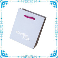 paper merchandise bags, jewelry boutique shopping bags