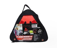 Warning Triangle Roadside Accident Safety Car Tool Kit