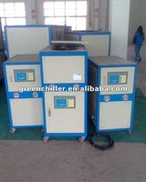 Milk industrial chiller unit with 5~35C degree out tem., air chiller with sanyo scroll compressor