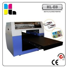 High Quality! Flatbed Printing Machine PVC Card, Printing Machine Flatbed, Inkjet Printer