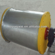 CT permanent magnetic drum pulley for iron ore separation