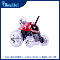 Unique high quality flip stunt car remote control toy