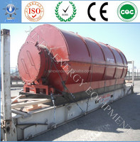 New Design Good Performance and Higher Oil Yield Pyrolysis Used Plastic Scrap Tire Retreading Machinery to Crude Oil