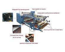 sublimation textile printer t shirt heat transfer printing machine rotary transfer machine