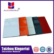 Hot sale Alucoworld excellent performance super peeling strength garage wall panel