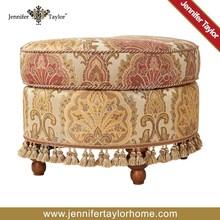 New design half moon shape upholstery stool