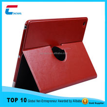 Alibaba gold supplier new arrival 720 rotate PU leather cover for ipad 2/3/4, smart sleep for ipad leather cover case