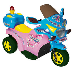 Rechargeable Electric 6V 3-wheel Police motorcycle for kids YH-99063