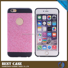 Bling bling cell phone cover for iphone 6 hard back case cover