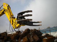 LIEBHERR Excavator attachment grapple Wood log grapple, rotating grappl
