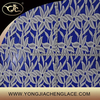 YJC60039 China store embroidery african cord fabric lace